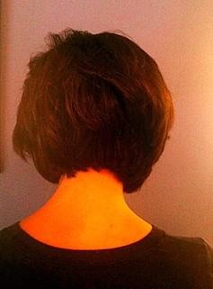 hair style collar